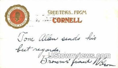 Cornell - Ithaca, New York NY Postcard