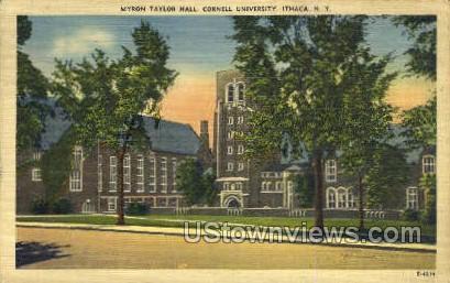 Myron Taylor Hall - Ithaca, New York NY Postcard