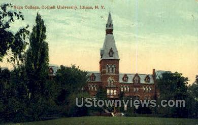 Sage College - Ithaca, New York NY Postcard