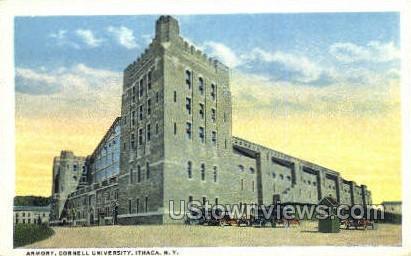 Armory - Ithaca, New York NY Postcard