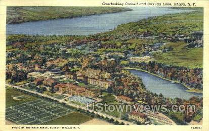 Cayuga Lake - Ithaca, New York NY Postcard