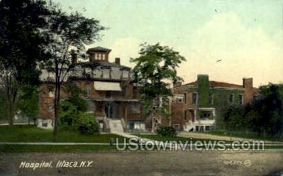 Hospital - Ithaca, New York NY Postcard