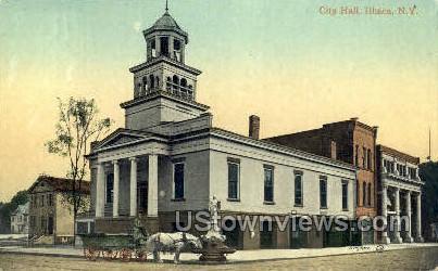 City Hall - Ithaca, New York NY Postcard