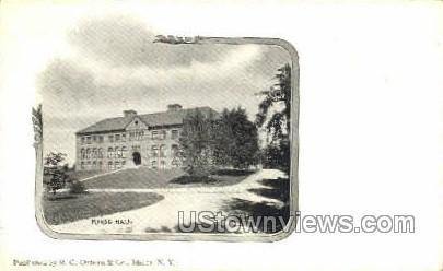 Morse Hall, Private Mailing Card - Ithaca, New York NY Postcard
