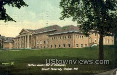 Goldwin Smiths Hall, Cornell U - Ithaca, New York NY Postcard