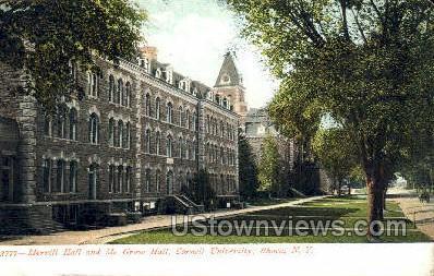 Cornell U, Merrill Hall - Ithaca, New York NY Postcard