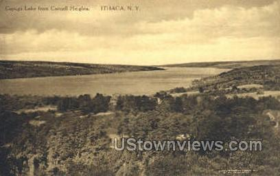 Cornell Heights - Ithaca, New York NY Postcard