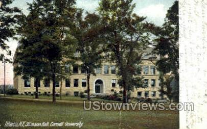 Cornell University, Stimson Hall - Ithaca, New York NY Postcard