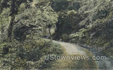 Goldwin Smith Walk - Ithaca, New York NY Postcard