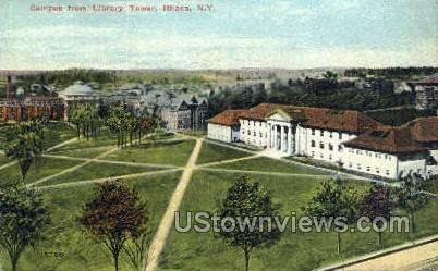 Library Tower - Ithaca, New York NY Postcard