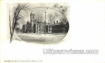 Private Mailing Card - Ithaca, New York NY Postcard