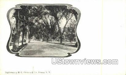 Lower State Street - Ithaca, New York NY Postcard