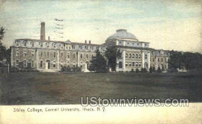 Sibley College, Cornell U - Ithaca, New York NY Postcard