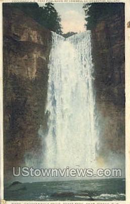 Taughannock Falls - Ithaca, New York NY Postcard
