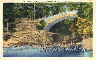 Beebe Lake - Ithaca, New York NY Postcard