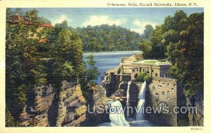 Triphammer Falls - Ithaca, New York NY Postcard