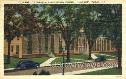 Olin Hall - Ithaca, New York NY Postcard