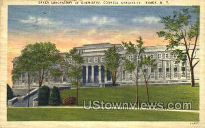 Baker Laboratory - Ithaca, New York NY Postcard
