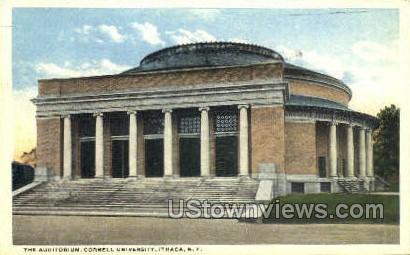Auditorium - Ithaca, New York NY Postcard