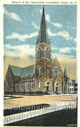 Immachulate Conception - Ithaca, New York NY Postcard