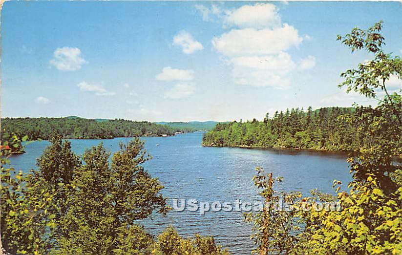 Fulton Chain of Lakes, Seventh Lake - Inlet, New York NY Postcard