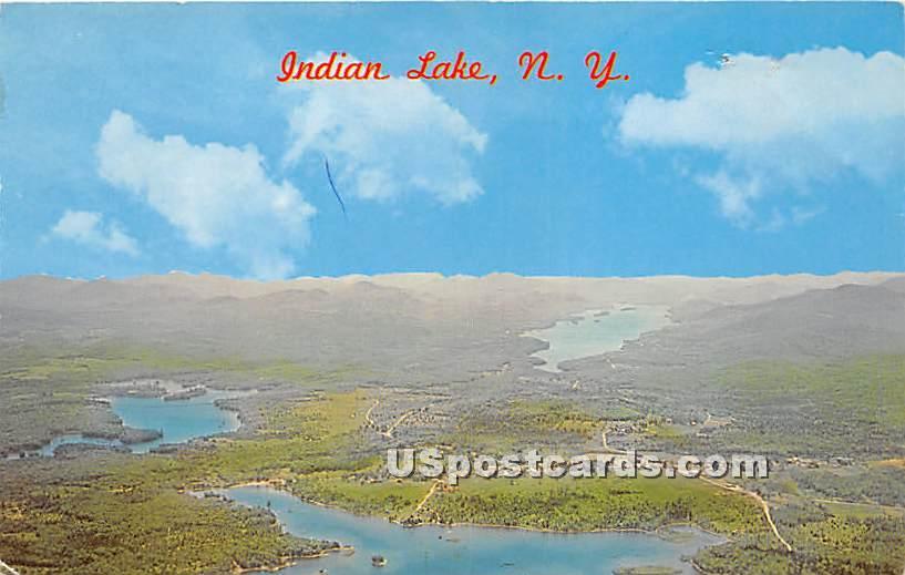 Indian Lake, New York NY Postcard