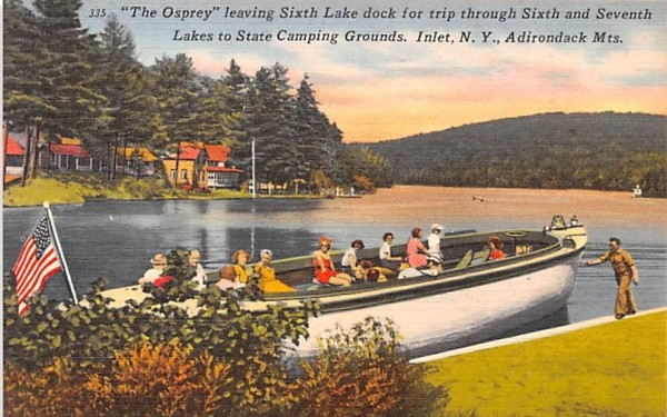 The Osprey Inlet, New York Postcard