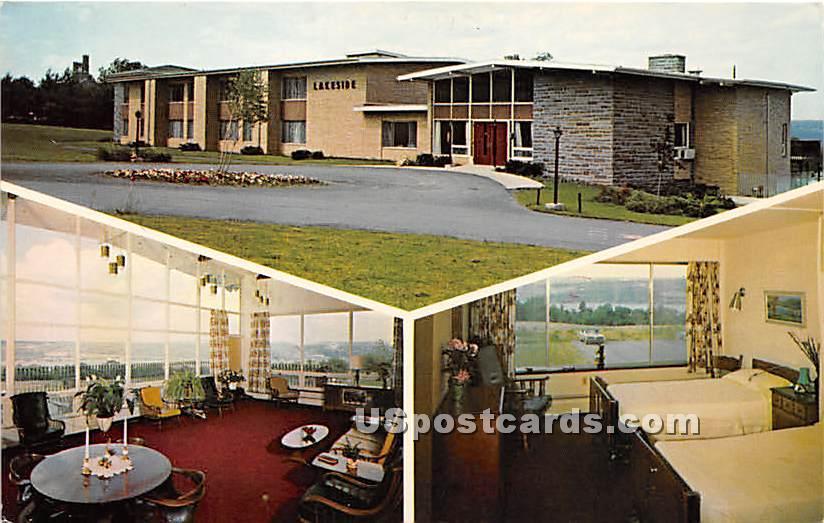 Lakeside Nursing Home - Ithaca, New York NY Postcard
