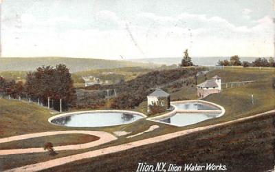 Ilion Water Works New York Postcard