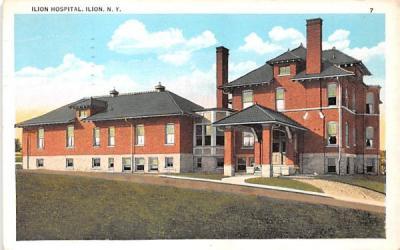 Ilion Hospital New York Postcard