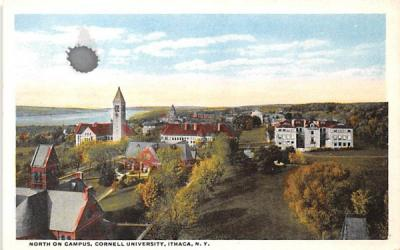 Cornell University Ithaca, New York Postcard