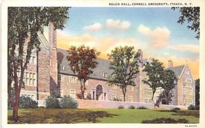 Balch Hall Ithaca, New York Postcard