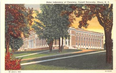 Baker Laboratory of Chemistry Ithaca, New York Postcard