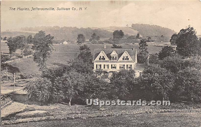 The Maples - Jeffersonville, New York NY Postcard