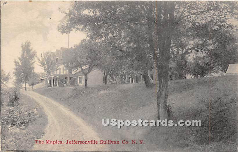 The Maples - Jeffersonville, New York NY Postcard