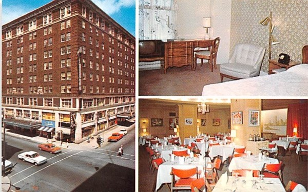 Air Conditioned New Hotel Jamestown New York Postcard
