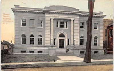 County Clerk's Building Johnstown, New York Postcard