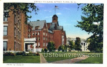 Keuka College - Lake Keuka, New York NY Postcard