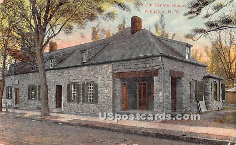 The Old Senate House - Kingston, New York NY Postcard