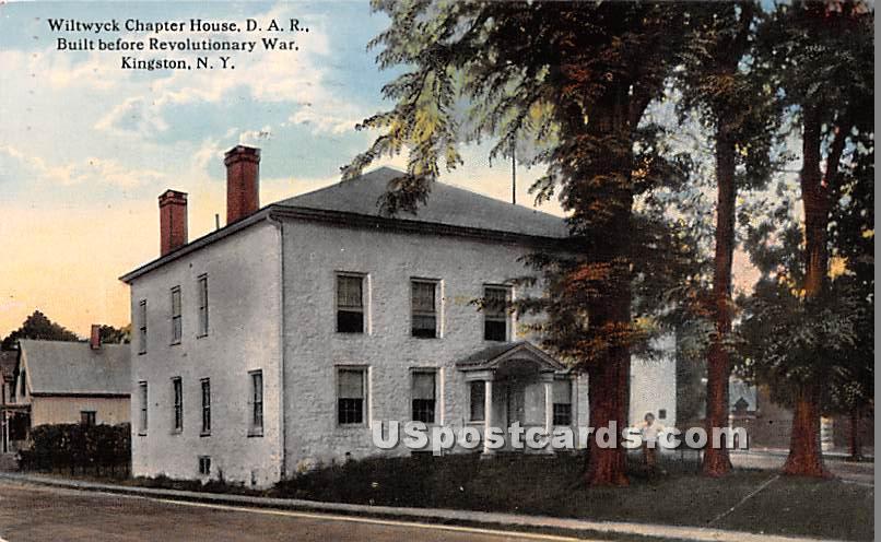 Wiltwyck Chaper House D.A.R - Kingston, New York NY Postcard