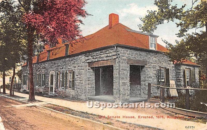 Old Senate House - Kingston, New York NY Postcard