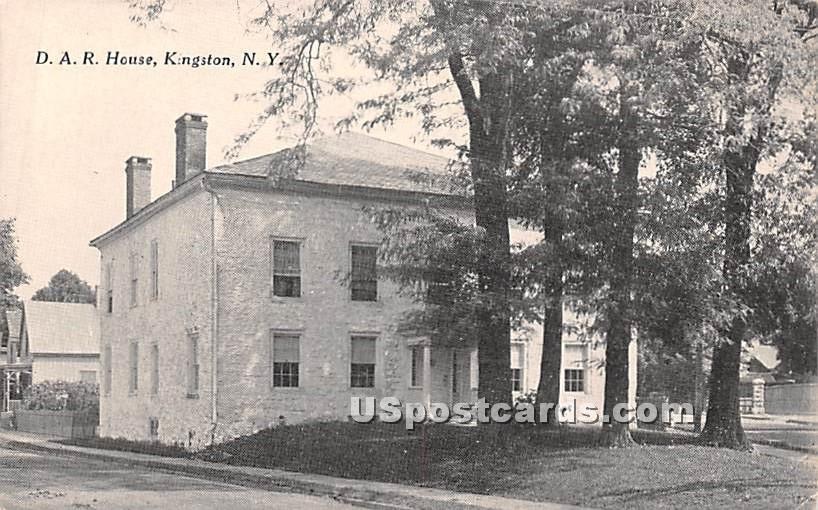 D.A.R. House - Kingston, New York NY Postcard
