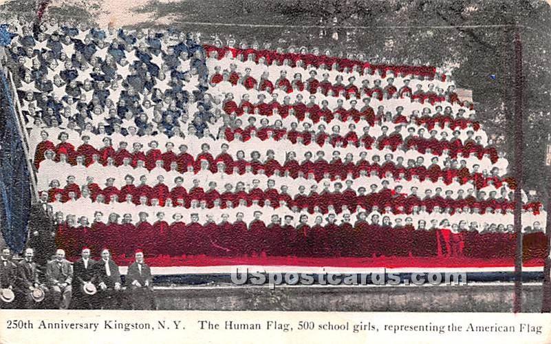 250th Anniversary - Kingston, New York NY Postcard