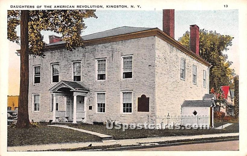 Daughters of the American Revolution - Kingston, New York NY Postcard