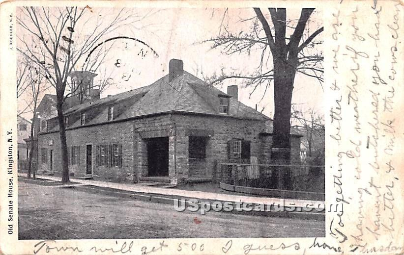 Old Senant House - Kingston, New York NY Postcard