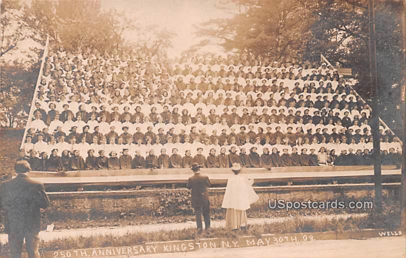 250th Anniversary May 30, 1908 - Kingston, New York NY Postcard