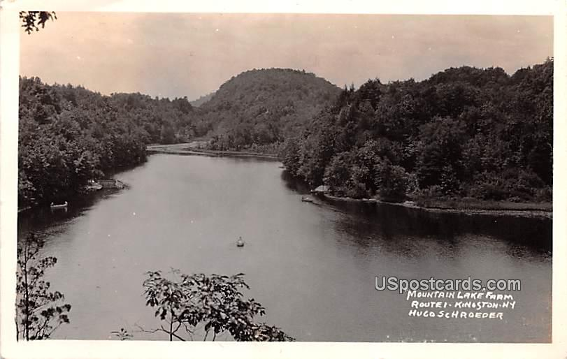 Mountain Lake Farm - Kingston, New York NY Postcard