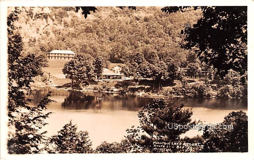 Mountain Lake Resort - Kingston, New York NY Postcard