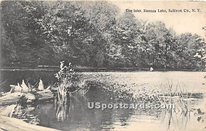 The Inlet - Kenoza Lake, New York NY Postcard