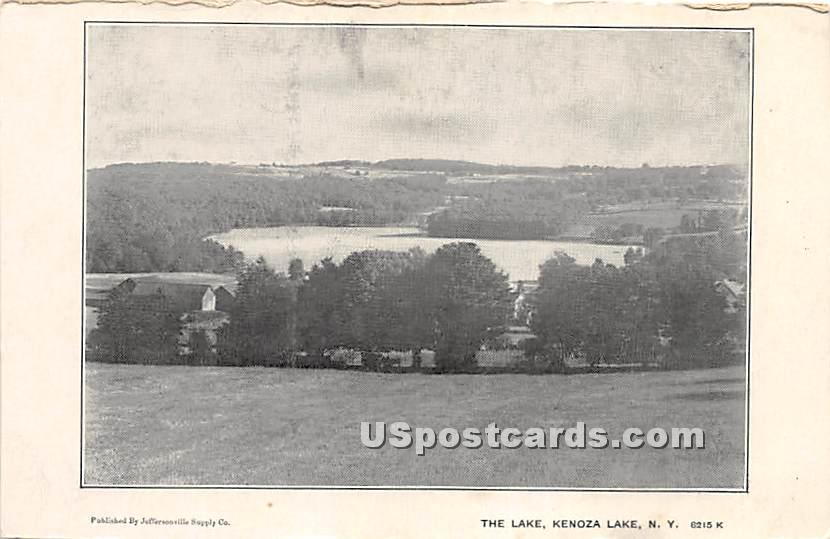 The Lake - Kenoza Lake, New York NY Postcard
